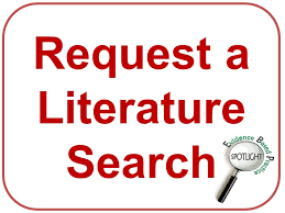 Image result for literature search request